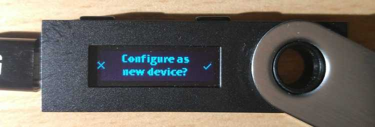 Configure as new device